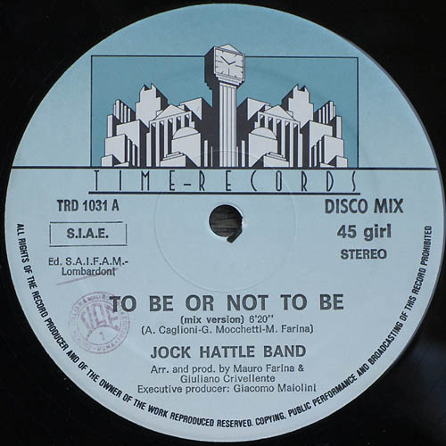jock hattle band to be or not to be