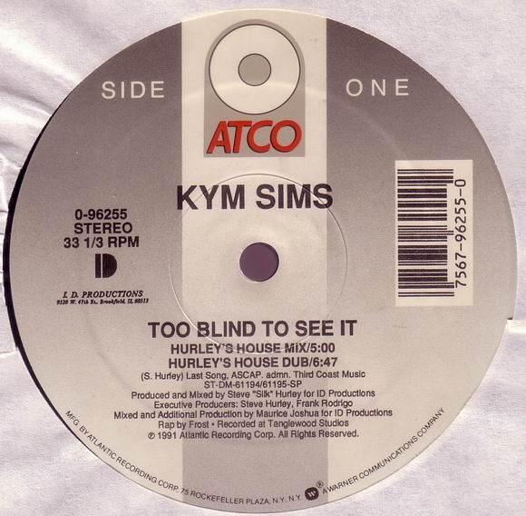 kym sims too blind to see